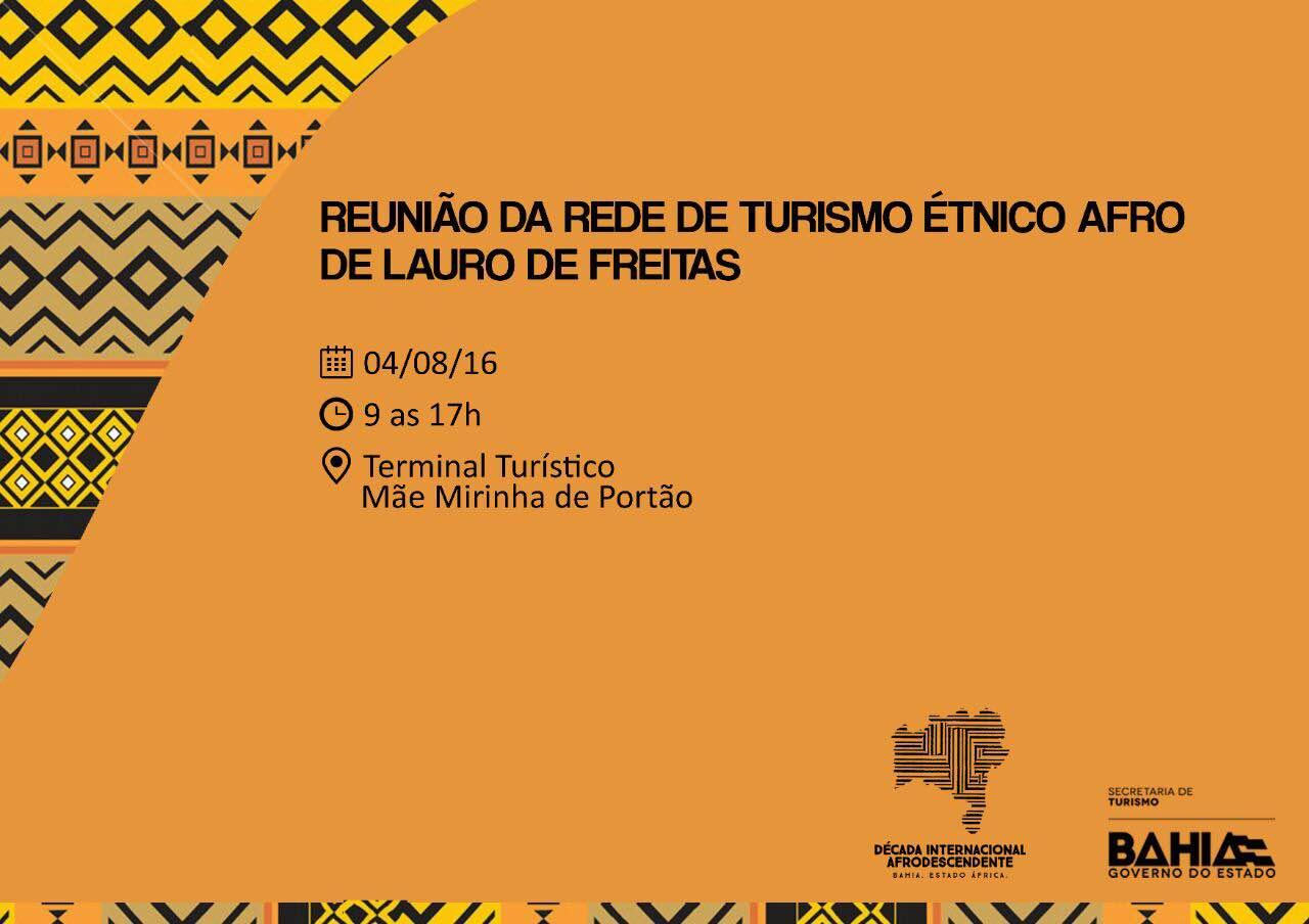Reunião de Rede de Turismo Étnico acontece em Lauro de Freitas