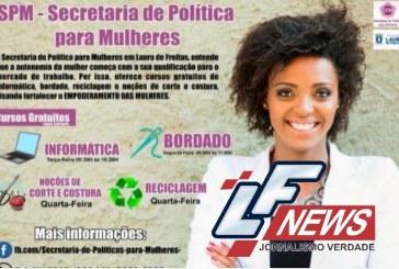 Prefeitura de Lauro de Freitas oferece cursos gratuitos