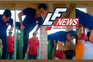 Ministro pula a cerca em Alagoas