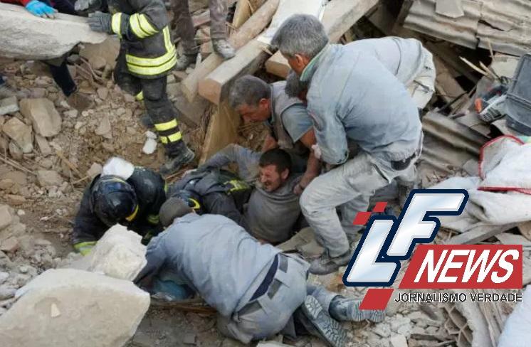 Forte terremoto no centro da Itália deixa ao menos 38 mortos