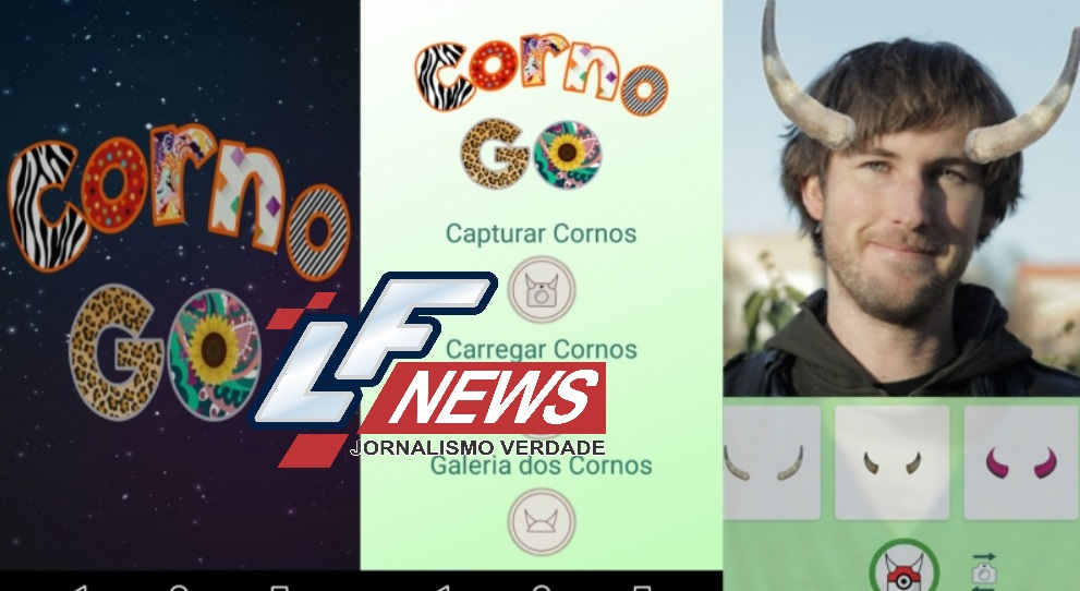 Inspirados no jogo 'Pokémon Go', brasileiros criam app 'Corno GO'