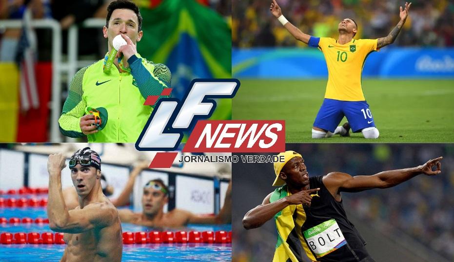 Olimpíada acaba mas boas lições aprendemos com os campeões olímpicos