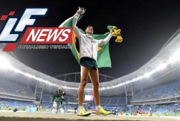 Brasileiro conquista ouro e bate recorde olímpico no salto com vara