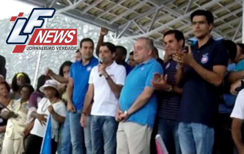 Alexandre Aleluia prestigia inauguração do Comitê de Campanha de ACM Neto