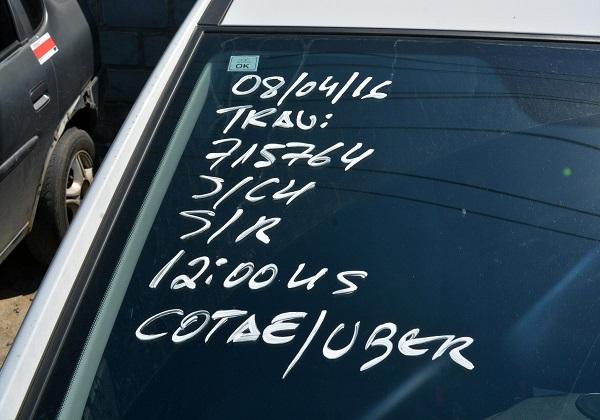 Mais de 90 carros do Uber já foram apreendidos em Salvador
