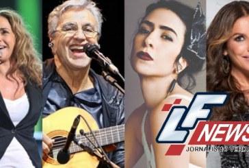 Confira a lista dos 50 maiores artistas do Brasil
