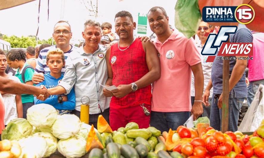 Na reta final, Dinha fala sobre expectativa para mais uma eleição em Simões Filho, confira