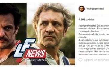 Rodrigo Lombardi sobre convite para substituir Montagner: 'Honrado'