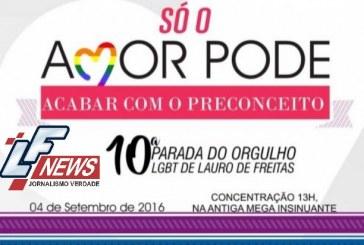 10ª Parada do Orgulho LGBT neste domingo (4)