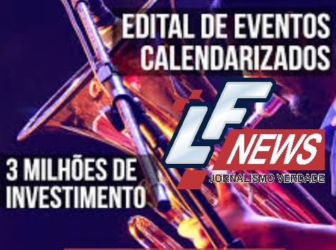 Inscrições para Edital de Eventos Calendarizados