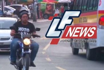 Mototaxistas são obrigados por traficantes a pilotar sem capacete e pagar taxa de circulação