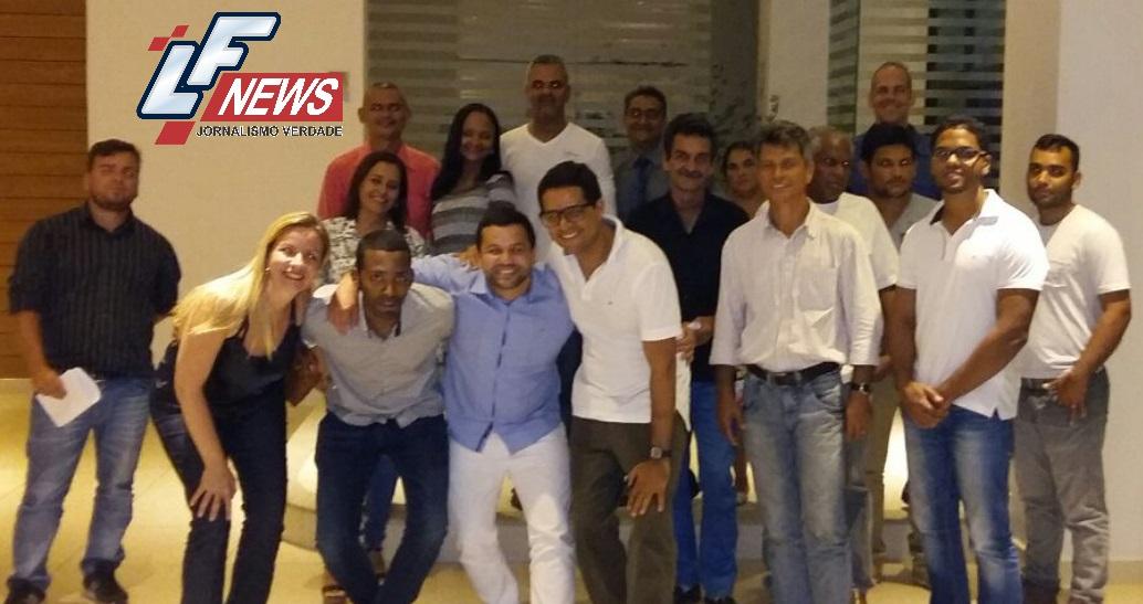 Filiados ao Democratas realizam primeira reunião com grupo de Lauro de Freitas