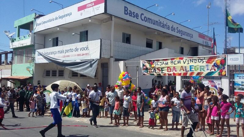 PM promove festa para crianças na BCS de Itinga