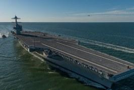 Qual poderá ser a resposta da Rússia e China à introdução do porta-aviões USS Gerald Ford?
