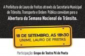 Settop lança nesta segunda (18), a programação da Semana Nacional de Trânsito