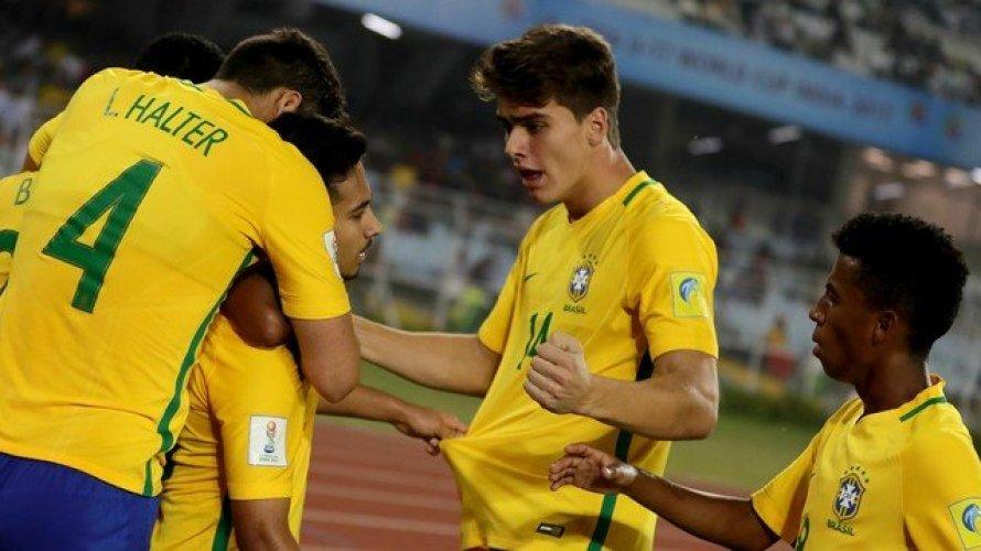 Brasil vence Mali e fica com terceiro lugar no mundial sub-17
