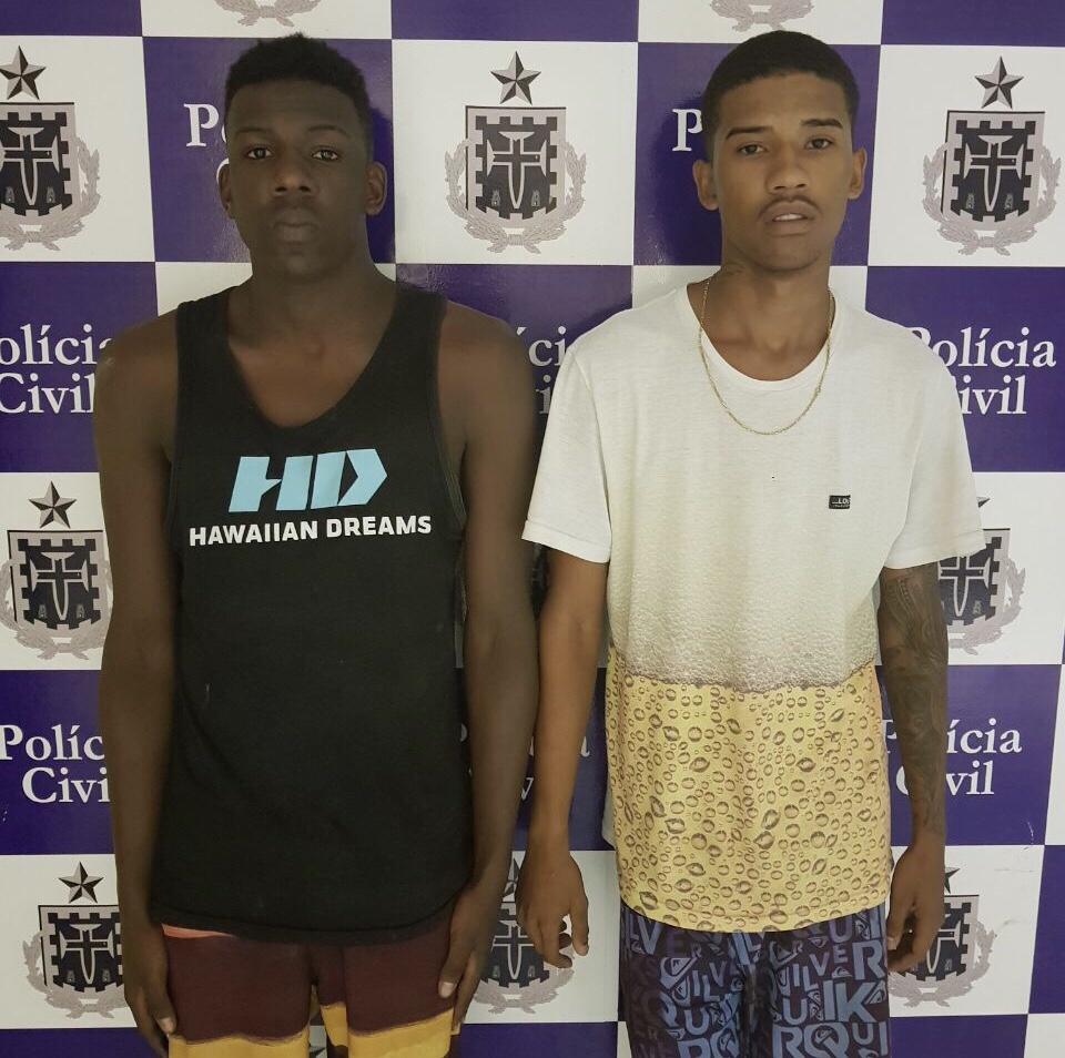 Delegacia de Homicídios prende suspeitos de assassinar adolescente em Feira de Santana