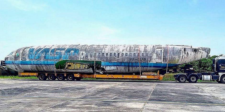Últimas aeronaves da Vasp serão retiradas do Aeroporto de Salvador. SETTOP não foi avisada