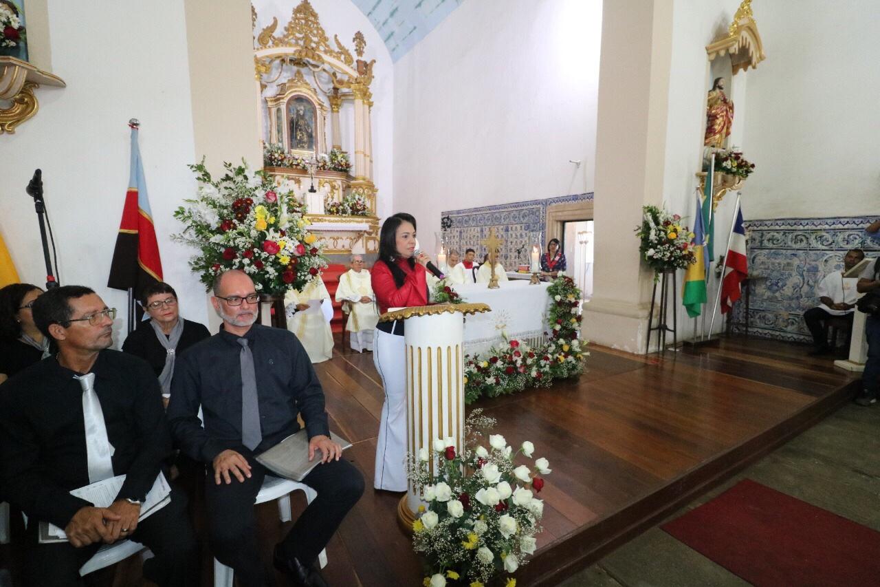 Missa encerra celebrações pelos 56 anos da emancipação de Lauro de Freitas