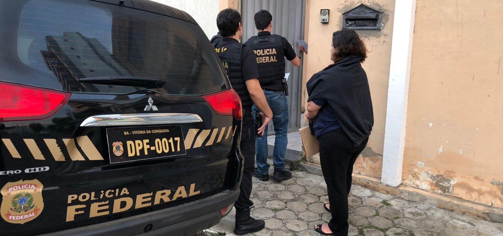 Polícia Federal deflagra operação Ciranda de Pedra no sudoeste baiano