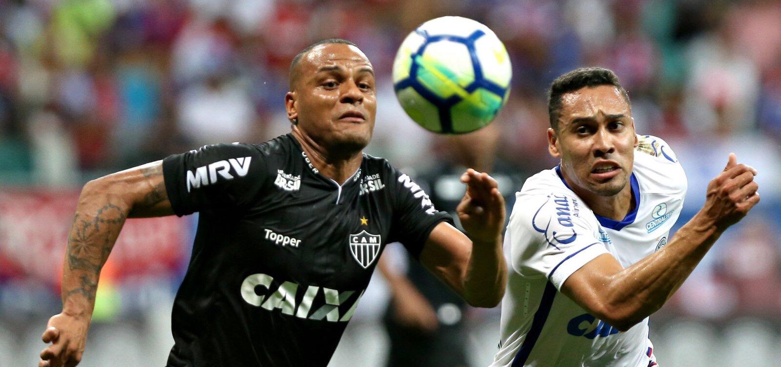Bahia arranca empate em 2 a 2 com o Atlético-MG na Fonte Nova