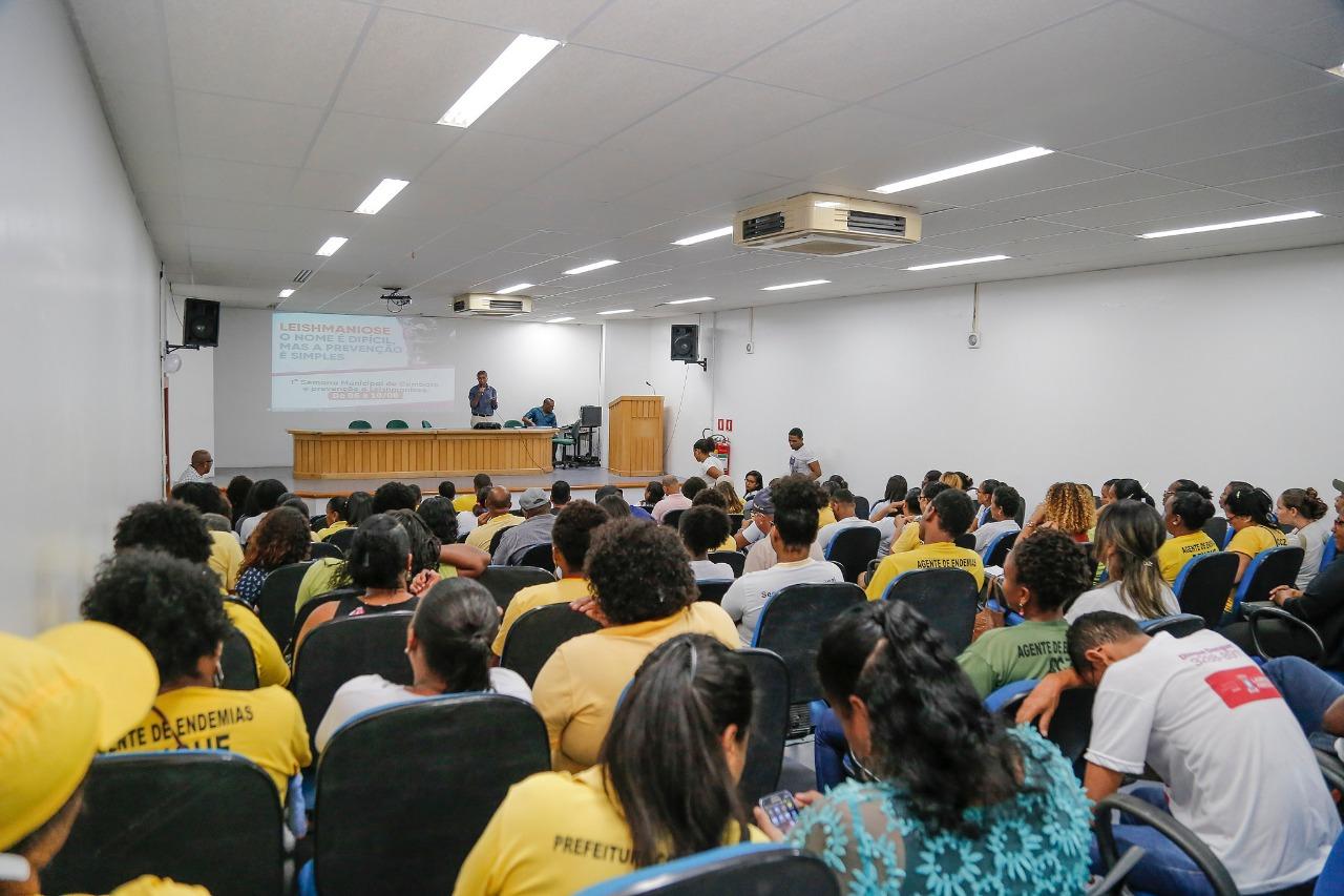 Agentes de Endemias de Lauro de Freitas são capacitados para prevenção e controle da leishmaniose