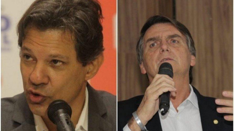 Vox Populi: Bolsonaro tem 44% e Haddad vai a 39%