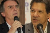 Ibope: entre os nordestinos, Haddad tem 57%; Bolsonaro, 33%