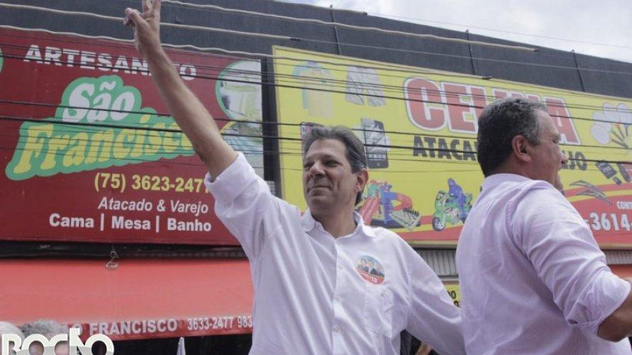 Na Bahia, Haddad venceu em 413 dos 417 municípios no segundo turno