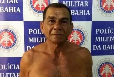Idoso é preso suspeito de estuprar neto de 13 anos no norte da Bahia