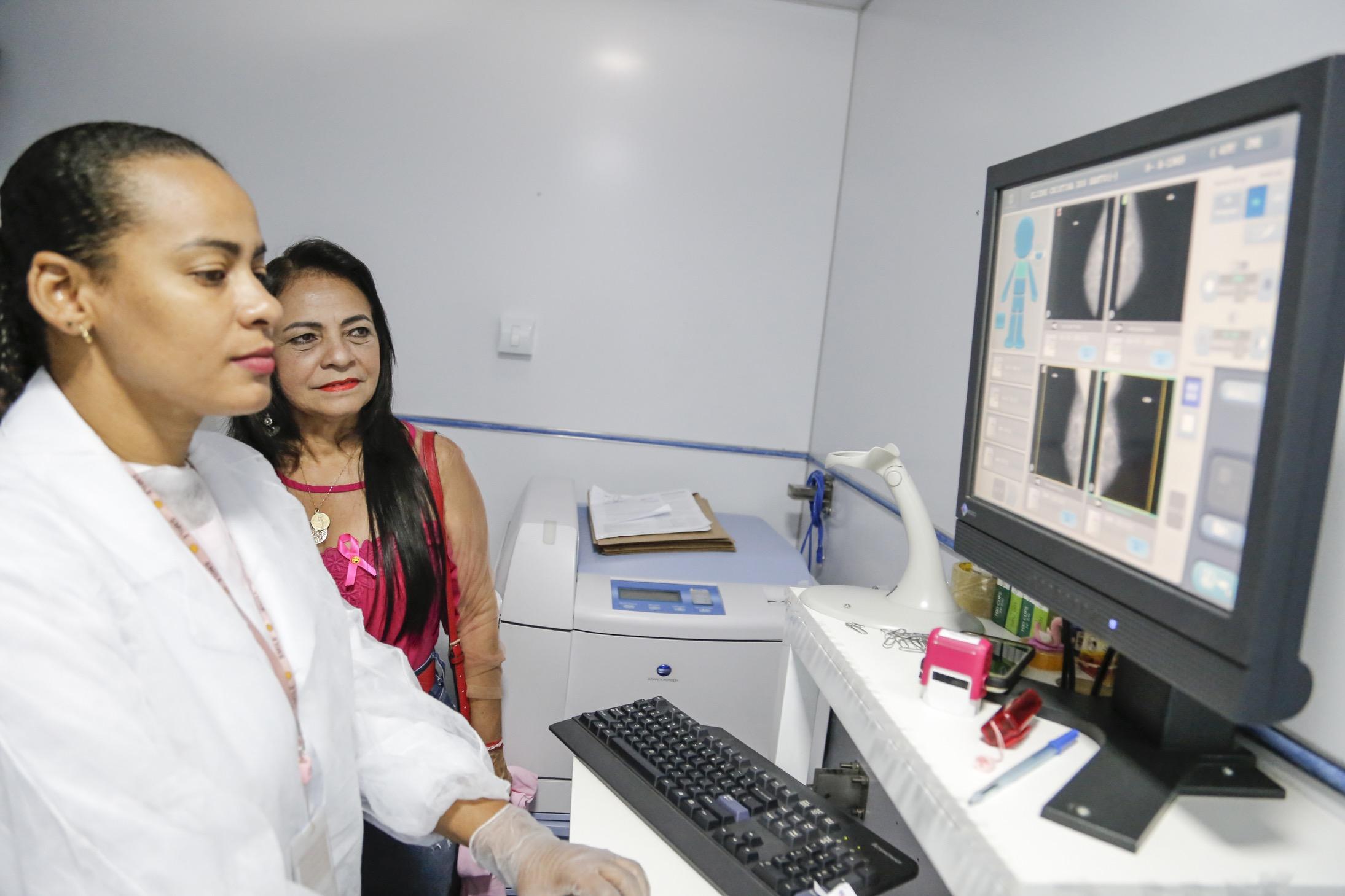 Carreta do Hospital da Mulher encerra mutirão em Lauro de Freitas com mais de 600 atendimentos