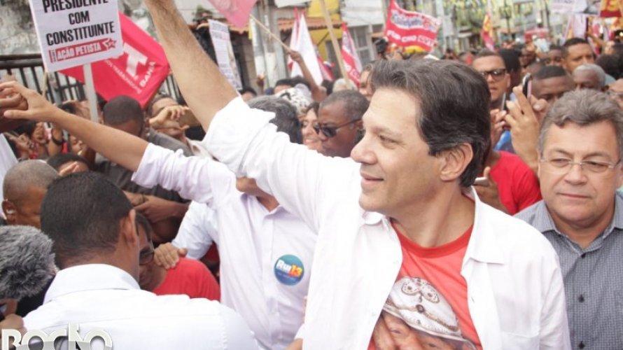 Haddad diz que vai até enfermaria para debater com Bolsonaro se for necessário