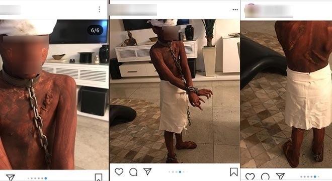 Mãe de menino 'fantasiado' de escravo em Natal pede desculpas
