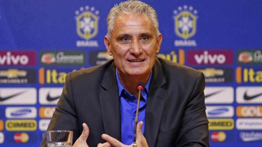 Treinador da Seleção Brasileira, Tite elogia modelo de jogo do Bahia em entrevista