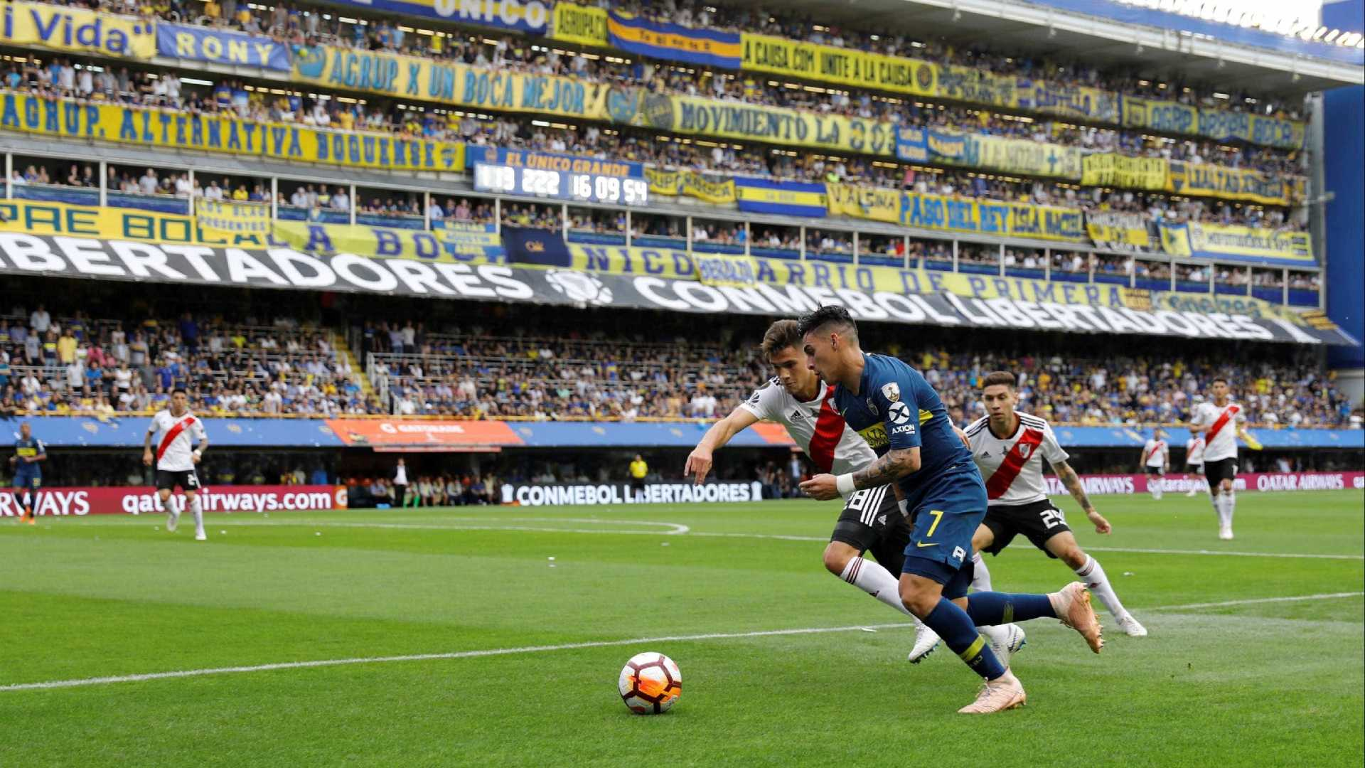 Conmebol adia final da Libertadores entre Boca e River