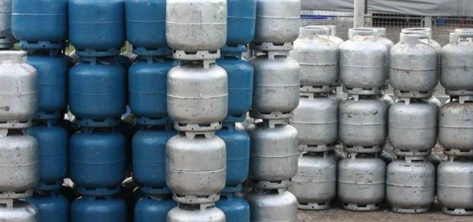 Petrobras anuncia aumento de 8,5% em preço de botijão de gás nas refinarias