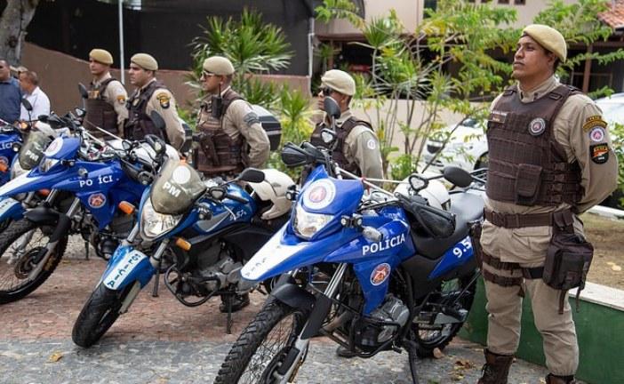 Pelotão de Motocicletas vai intensificar policiamento em Lauro de Freitas