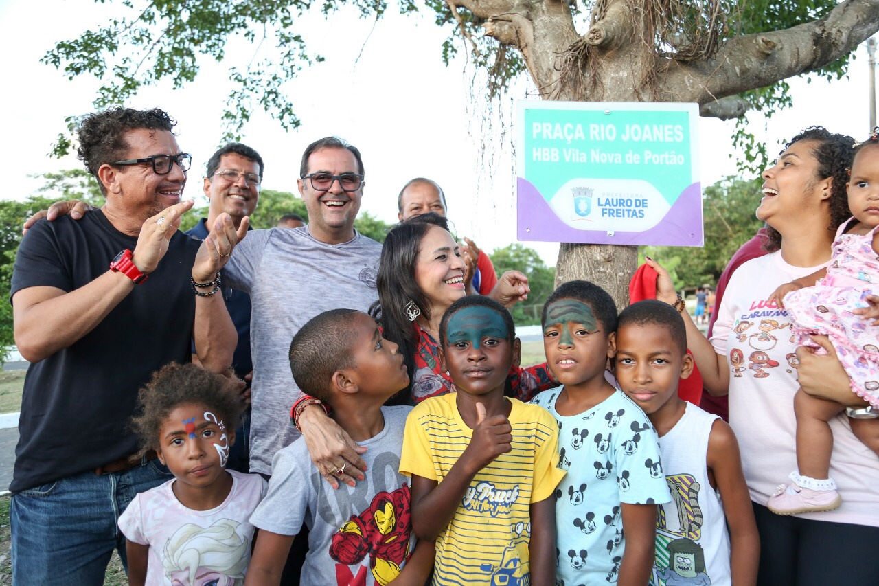 Moema entrega praça em Vila Nova de Portão e garante mais espaço de lazer na cidade