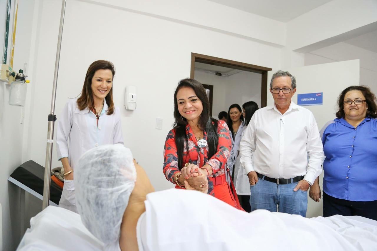Moema participa do início do Mutirão de Cirurgias que acontece no Hospital Jorge Novis