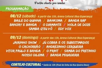 Tradicional festa de Portão garante dois dias de muito samba