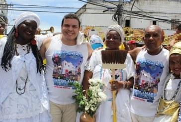 Vereador Isaac de Belchior participa dos festejos de Santo Amaro de Ipitanga, padroeiro de Lauro de Freitas