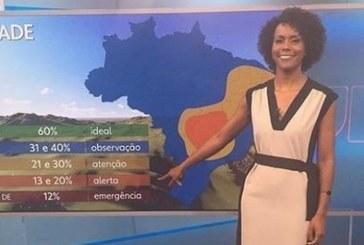 Maju Coutinho é primeira mulher negra a assumir bancada do Jornal Nacional
