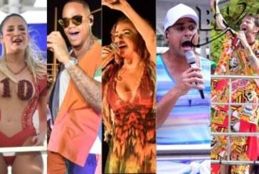 Carnaval 'estreia' com Claudia Leitte, Bell, Léo Santana, Daniela, Saulo e Harmonia sem cordas