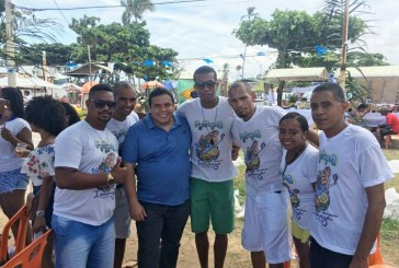 Vereador Isaac de Belchior celebra festa de Iemanjá em Buraquinho