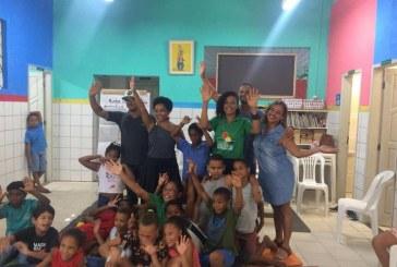 """Semarh participando também do projeto """"Cidade Brincante"""""""