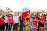 Vereador Isaac de Belchior inaugura parque infantil na praça do Jockey Club
