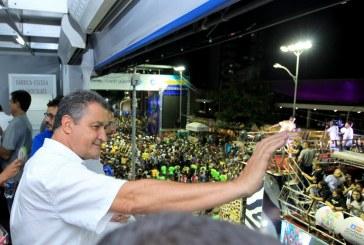 """""""Que seja um Carnaval de paz e união"""", afirma Rui na abertura da festa"""