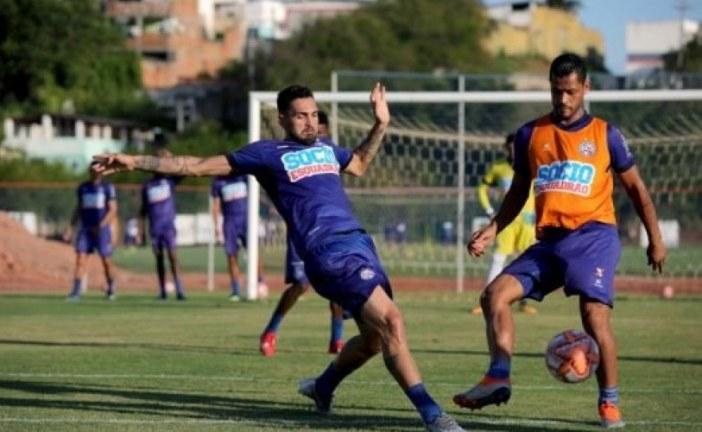 Bahia inicia preparação para semifinal contra o Atlético