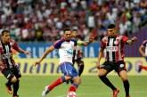 Bahia vence o Atlético e coloca um pé na final do Campeonato Baiano