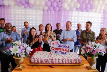 Cozinha Comunitária de Itinga comemora 100.800 refeições servidas em um ano